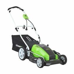 Greenworks 13 Amp 21-Inch Corded Lawn Mower - 25112