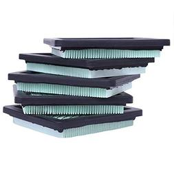 HEYZLASS 5Pack 17211-zl8-023 Air Filter, for Honda gc160 gcv