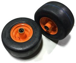 2 Caster Wheel For SOME Scag Mowers Solid Tire Assembly 13X6