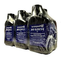 Husqvarna 2 Cycle Low Smoke Oil 6.4 oz Bottle - 6 pack