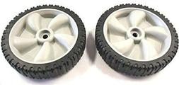 2 Genuine MTD 634-0190A Front Drive Wheels For Yard-Man Mach