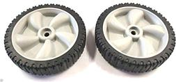 MTD 2 Genuine 634-0190A Front Drive Wheels For Yard-Man Yard