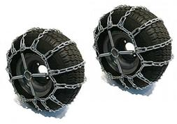 The ROP Shop 2 Link TIRE Chains & TENSIONERS 24x12x12 for Ku