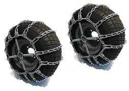 The ROP Shop 2 Link TIRE Chains & TENSIONERS 20x10x8 for Joh