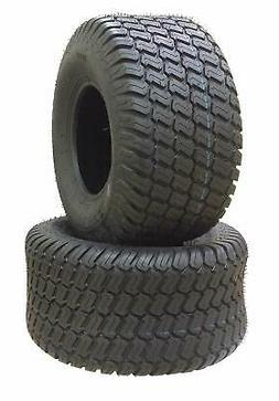 Pair of 15x6.00-6 Turf Tires, 4 Ply for Lawn and Garden Trac