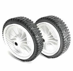 2 PC Lawn Mower Front Wheel for Craftsman 917.376591 917.377