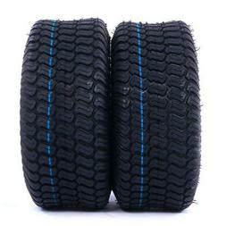 2x TIRES Tubeless 15x6.00-6 Turf Tires 4Ply Lawn Mower Tract