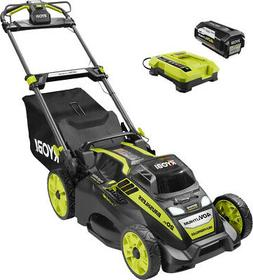 RYOBI 20 In. 40V Cordless Self-Propelled Walk Behind Mower w