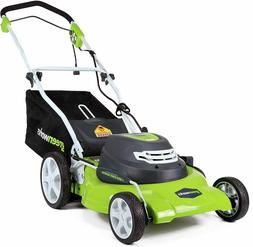 Greenworks 20-Inch 3-in-1 12 Amp Electric Corded Lawn Mower