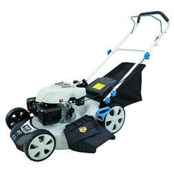 "Pulsar 21"" Gasoline Powered Recoil Start Lawn Mower White"