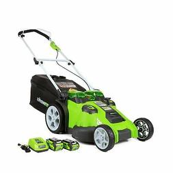 Greenworks 25302 40V G-MAX Cordless Lithium-Ion 20 in. 2-in-