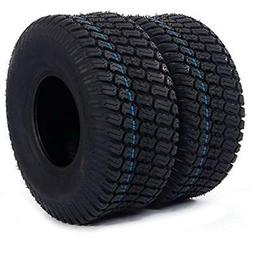 2PC 15x6.00-6 Turf Tires 4 Ply For Lawn And Garden Tractor M