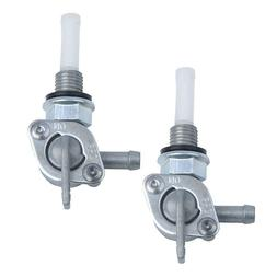 2X Shut Off Valve Gas Fuel Tank Pump Petcock Switch Gasoline
