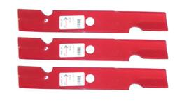 "3 Pack HD Mower Blades for 48"" Exmark 103-6401-S  103-6401"