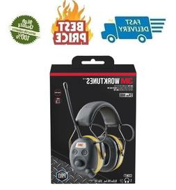 3M Peltor Worktunes Digital AM FM Radio Headphones Ear Muffs