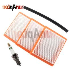 3Pcs Air Filter for 22-inch Toro Recycler Push Mower Model 2