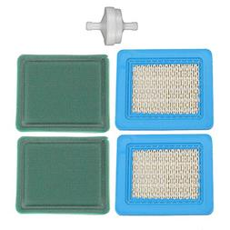 Harbot (Pack of 2 491588 491588S Air Filter with 491435 4935