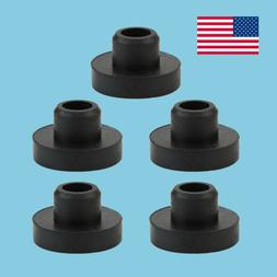 5 Pack Universal Gas Fuel Tank Grommet Bushings Tractor Lawn