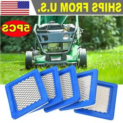 5 packs Lawn Mower Air Filter for Briggs and Stratton 491588