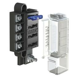 Blue Sea 5045 ST Blade Compact Fuse Blocks - 4 Circuits with