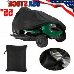 55'' Riding Lawn Mower Tractor Cover Garden Outdoor Yard UV