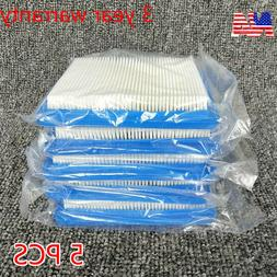 5Pcs Air Filter Lawn Mower Fit for Briggs & Stratton 491588