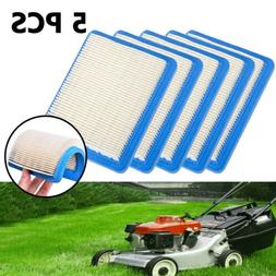5PCS Air Filter Replacement For Lawn Mower 491588 5043D 3999