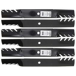 6 Toothed Blades for Ariens Gravely 08899100 Exmark 116-5173