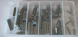 60pc machinery key assortment tractor and flywheel
