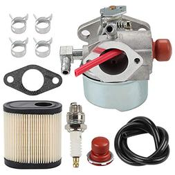 Hilom 640271 640303 640350 Carburetor with 36905 Air Filter