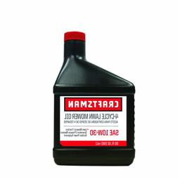 Craftsman 64299 SAE 10W30 Lawnmower Oil, 20-Ounce