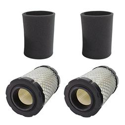 AISEN Pack of 2 Air Pre Filter for Husqvarna YTA22V46 YTH22V