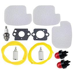 HIPA 530057925 Air Filter Fuel Repower Kit for Poulan P3314