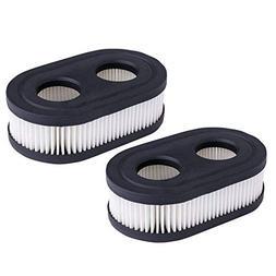 HEYZLASS 2Pack 593260 798452 Air Filter Cartridge, for Brigg