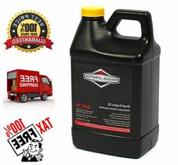 Briggs Stratton SAE 30W Lawn Mowers Engine Oil for Higher Te