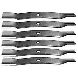 "Set of 6 72"" Deck High Lift Mower Blades TCU15882 AM102402 M"