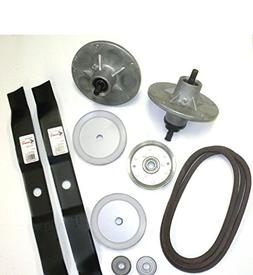 "Murray 42"" Deck Rebuild Kit Includes Spindle/ Blades / Belt"