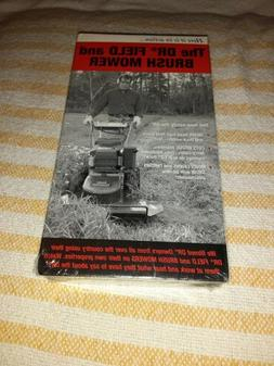 Dr Field and Brush Mower ~ New VHS Movie ~ Lawn Care Sealed