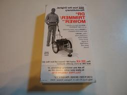 Dr Trimmer/Mower - VHS Promotional Video