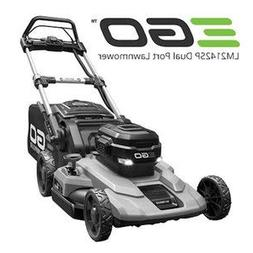 """EGO Power+ 21"""" Poly Deck Dual-Port Self Propelled Lawn Mower"""