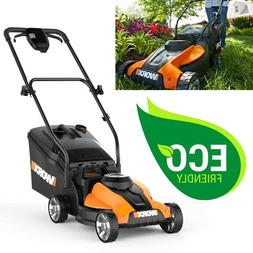 Electric Cordless Lawn Mower With Battery Charger Walk Behin