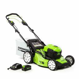 elite 21 brushless push mower 1 40v