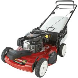 gas lawn mower self propelled