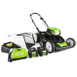 GreenWorks GLM801600 80-Volt 21-Inch 3-in-1 Cordless Lawn Mo