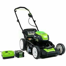 Greenworks PRO WalkBehind Lawn Mowers 21-Inch 80V Cordless M