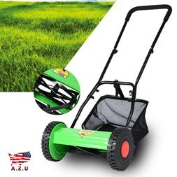 Hand Push Lawn Mower Courtyard Home Reel Mower Manual Lawnmo
