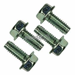 Power Mower Sales 4 Pack Hex Head Screw for Spindle/MTD 710-