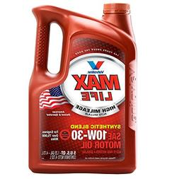 Valvoline High Mileage with MaxLife Technology 10W-30 Synthe