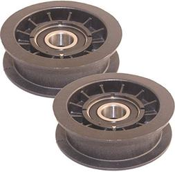 Murray 2 Pack 690409MA Idler Pulley 2-3/4-Inch Diameter for