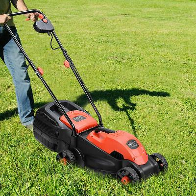 12 Amp Push Lawn Corded With Grass